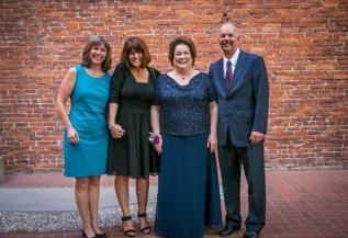 Aunt Lynlee, Aunt Terry, Mom, & Uncle Sam